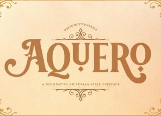 Aquero Font