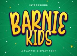Barnie Kids Font