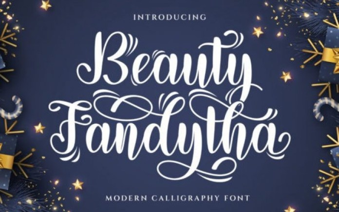 Beauty Fandytha Font
