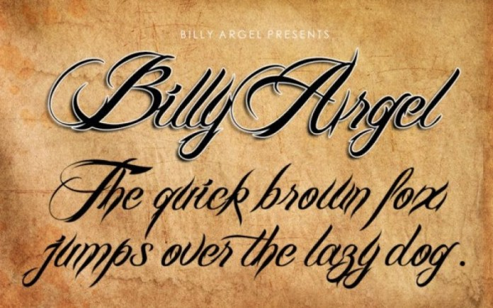 Billy Argel Font