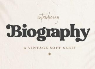 Biography Font