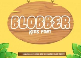 Blobber Font