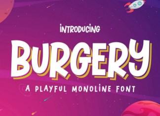 Burgery Font