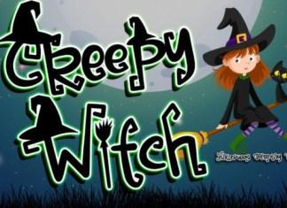 Creepy Witch Font