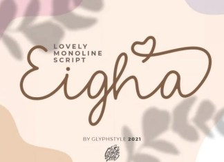 Eigha Font