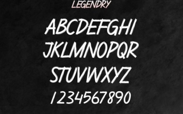 Legendry Font