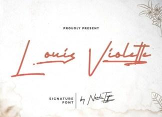 Louis Violette Font