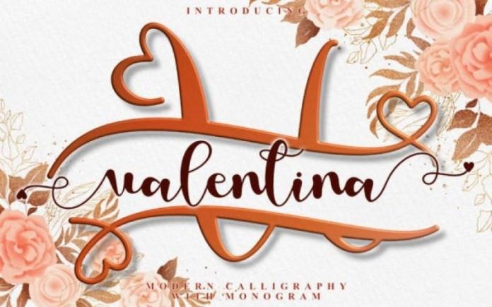 Love Valentina Font