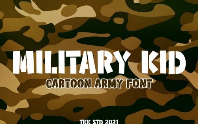Military Kid Font