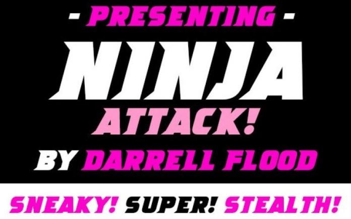 Ninja Attack Font