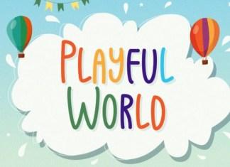 Playful World Font