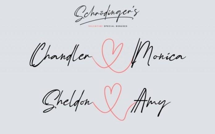 Schrödinger's Font