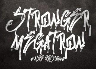 Stronger Megatron Font