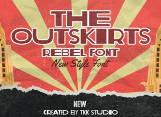 The Outskirts Font