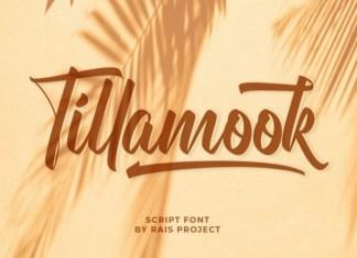 Tillamook Font
