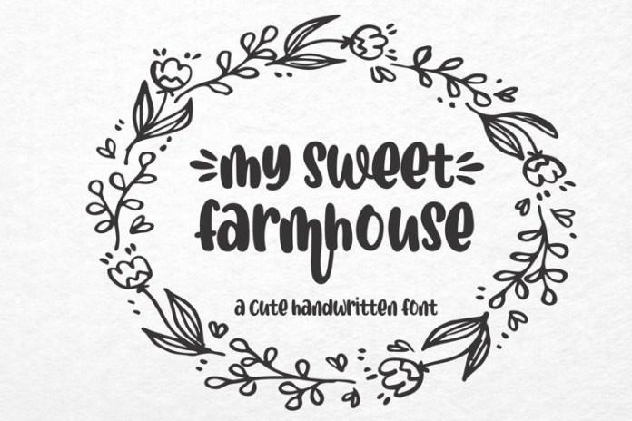 My Sweet Farmhouse Script Font