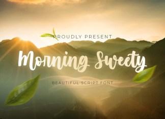 Morning Sweety Script Font