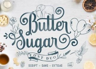 Butter Sugar Calligraphy Font