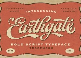 Earthgate Font