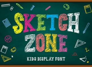 Sketchzone Display Font