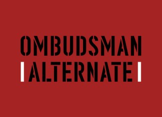 Ombudsman Alternate Display Font