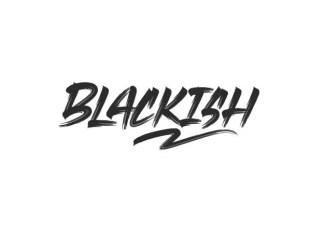 Blackish Brush Font