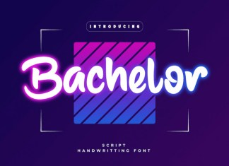 Bachelor Display Font