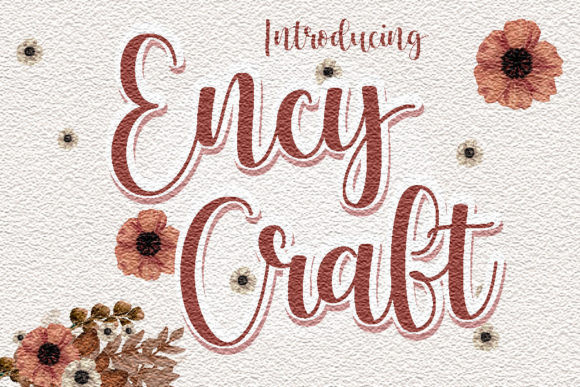 Ency Craft Calligraphy Font
