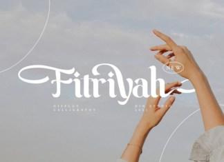 Fitriyah Display Font