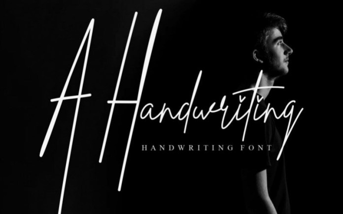 A Handwriting Font