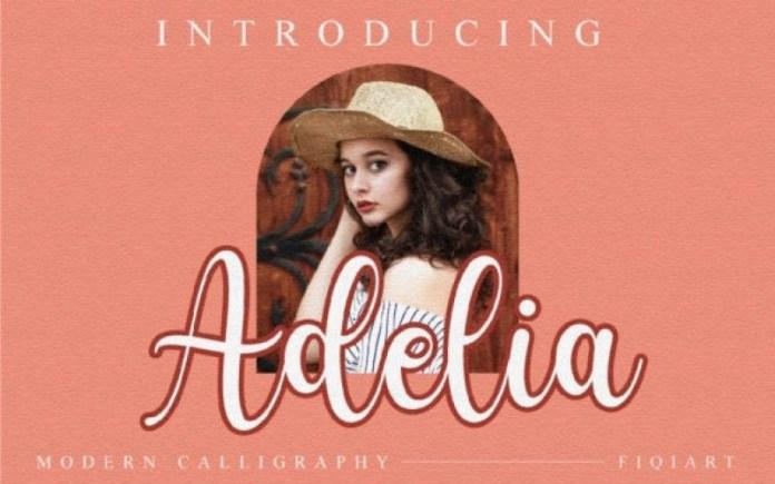 Adelia Script Font