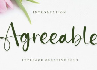Agreeable Font