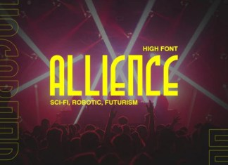 Allience Display Font