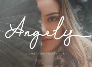 Angelis Handwritten Font