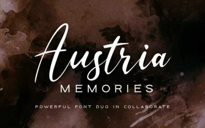 Austria Memories Font Duo