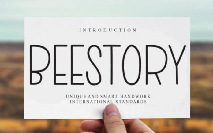 Beestory Font