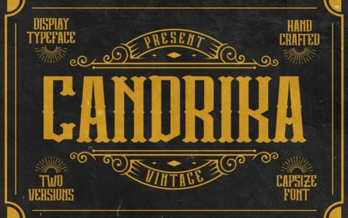 Candrika Display Font