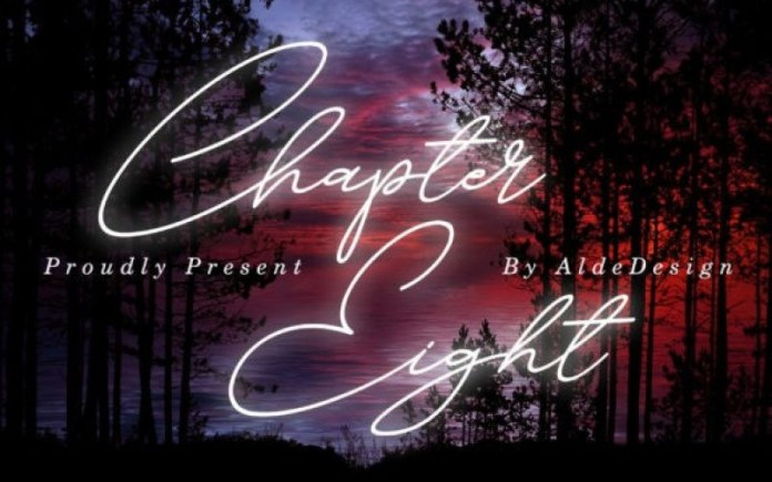 Chapter Eight Handwritten Font