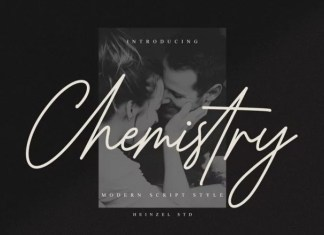 Chemistry Handwritten Font