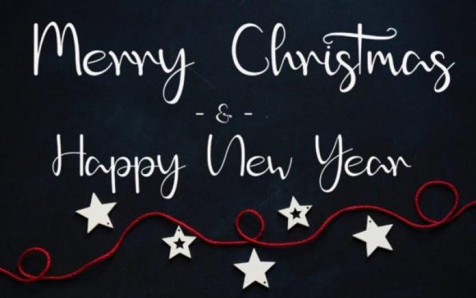 Christmas Glory Script Font