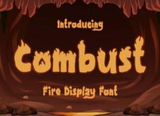 Combust Font