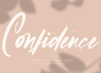 Confidence Script Font