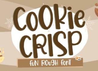 Cookie Crisp Display Font