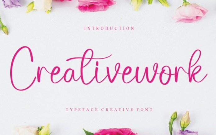 Creativework Font