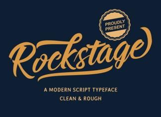 Rockstage Script Font