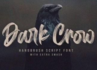 Dark Crown Brush Font