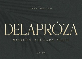 Delaproza Serif Font