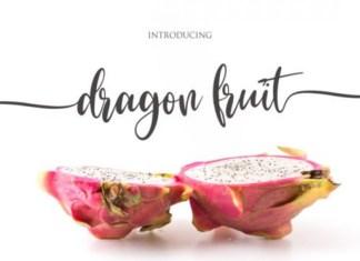 Dragon Fruit Font