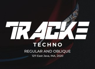 TRACKE Display Font