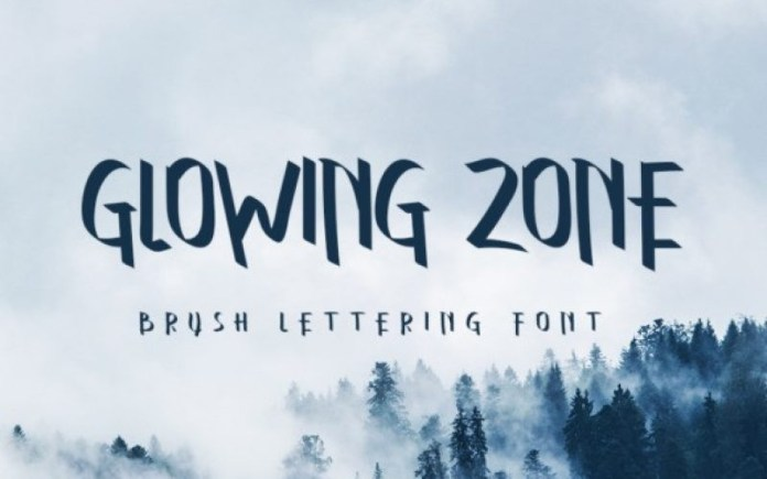 Glowing Zone Font